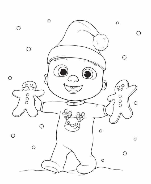 Cocomelon Coloring pages - 19 Coloring pages  WONDER DAY