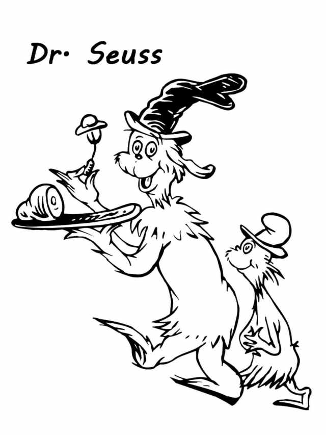 Green Eggs and Ham Coloring Pages  WONDER DAY — Coloring pages