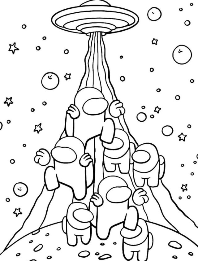 Among Us Coloring Pages. Print for free 25 Coloring Pages