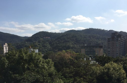 Nice view from National Palace Museum