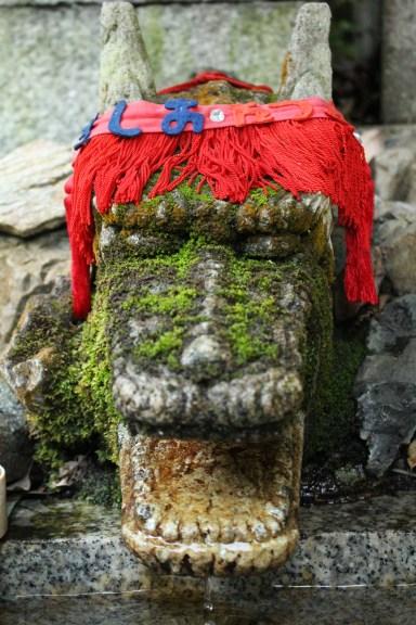 Dragon Purification water in Mt. Inari