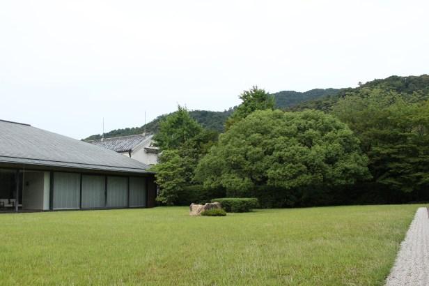 Sen-oku Hakuko Kan's courtyard