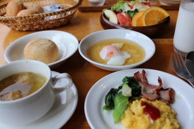 Breakfast at Ashitano Mori