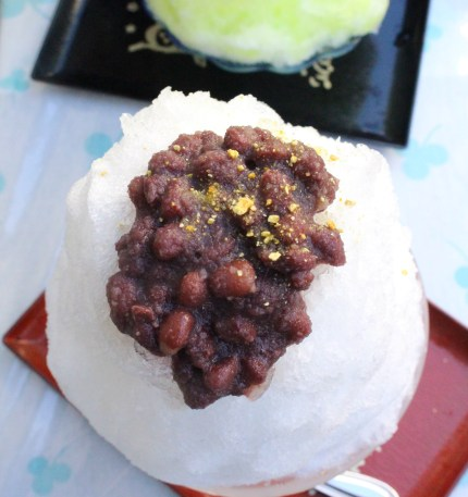 Jabara citrus shaved iceat Naka gori shop