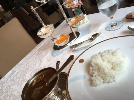 Ginza Shiseido's curry