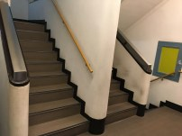 Stairs in Kyobunkan building