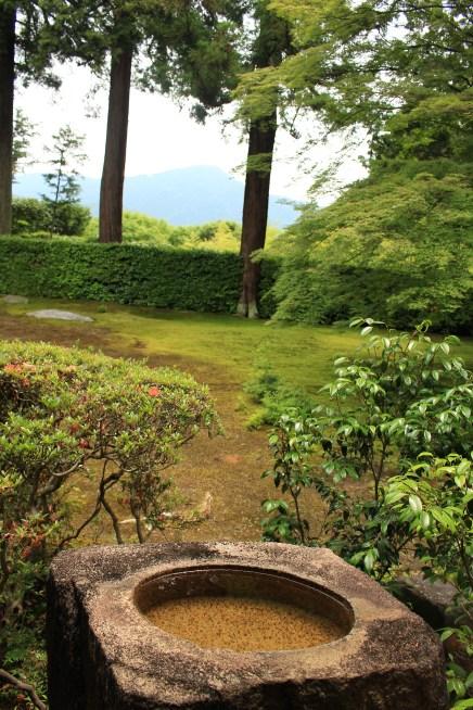 Entsuji temple's garden