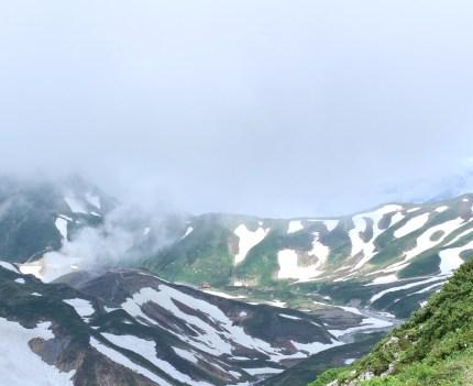 Scenery from Ichinokoshi Hut