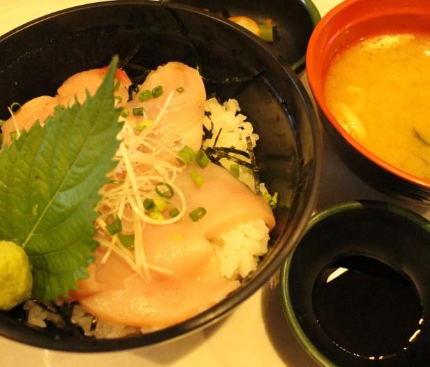 Lunch on Ogasawara Maru