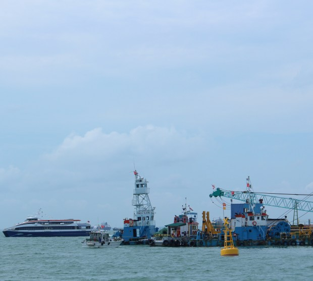 View from Singapore Port