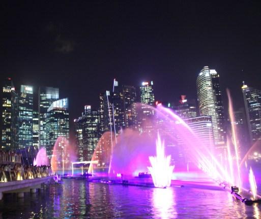 Marina Bay Sands Light Show