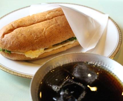 Tea Lounge Rindou's snacks