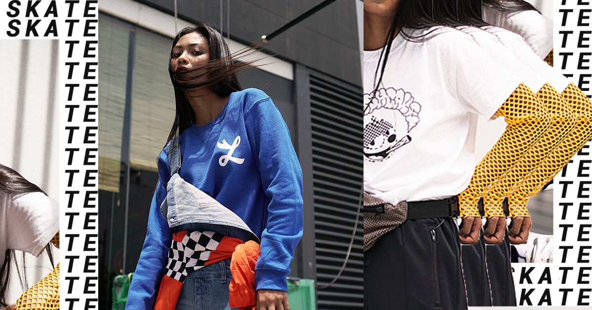 """Skater Girl Style Fashion Editorial: """"See You Later, Boy"""""""