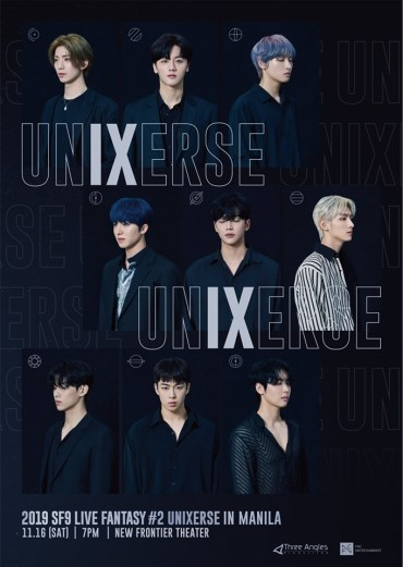 SF9 UnIXerse Tour - upcoming k-pop shows in manila