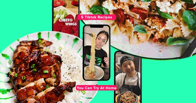 5 Tiktok Recipes You Can Try At Home Wonder