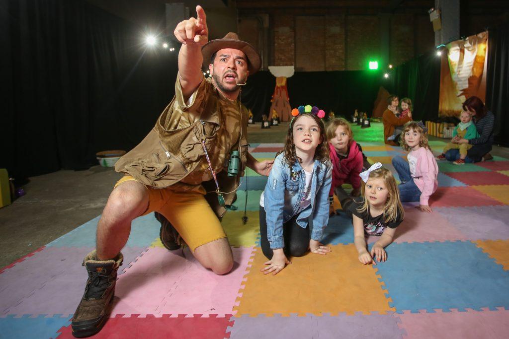 Dinosaur Adventure Challenge kids event manchester