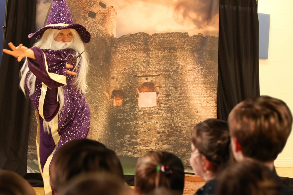 wizard themed children's event
