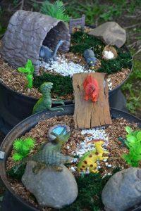 dinosaur garden kids outdoor fun activities