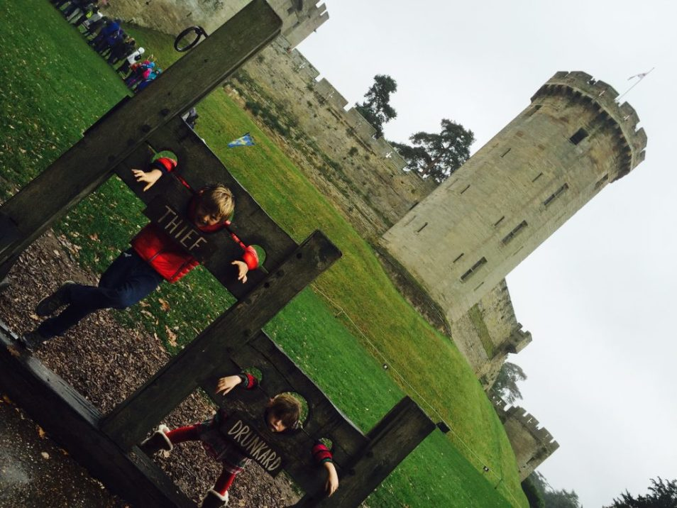 warwick castle family days out