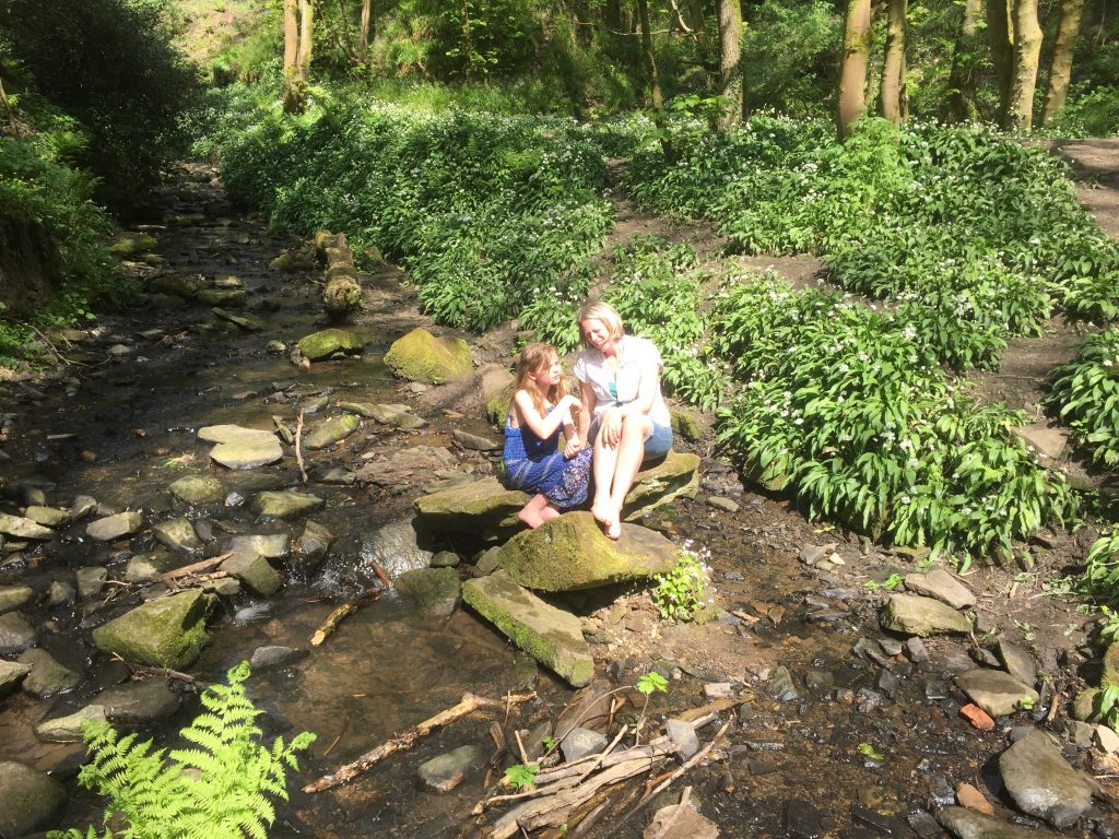 Fairy glen wigan family day out