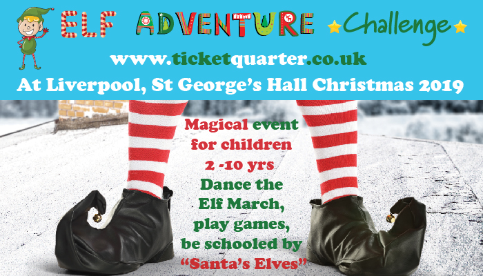 elf adventure challenge christmas event liverpool