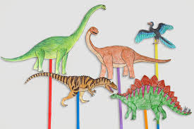 dinosaur craft stick activity