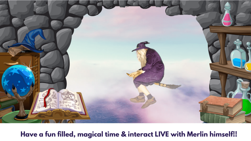 virtual broomstick ride wizard school online for kids