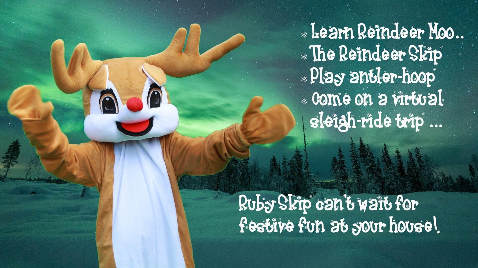 reindeer christmas event for kids