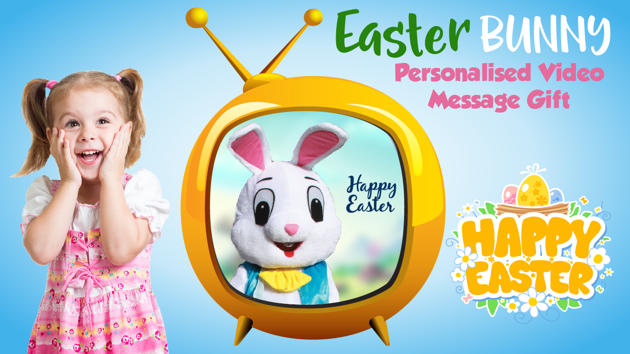 easter bunny personalised message video