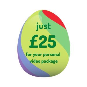 personalised message easter