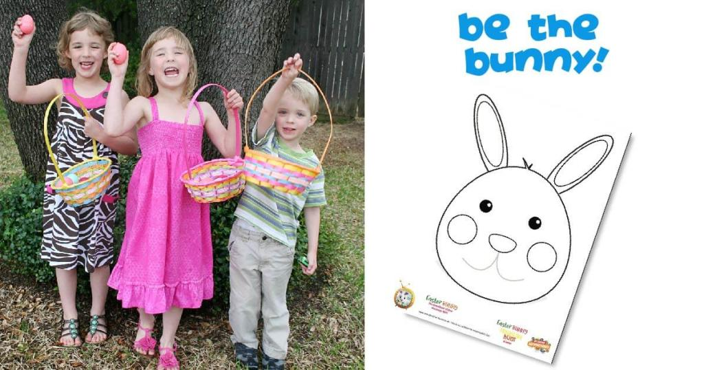 be the easter bunny