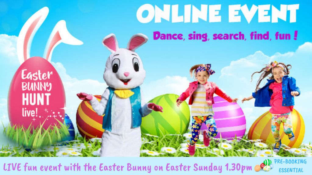 easter bunny live event