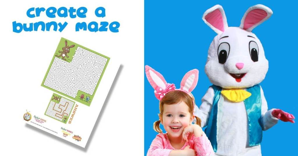 Easter Bunny Puzzle game