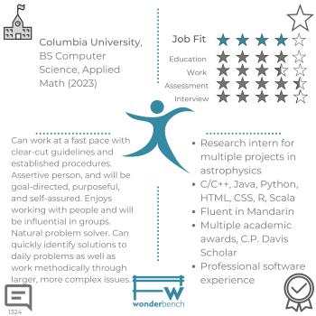 Wonderbench Software Engineering Candidate 1324