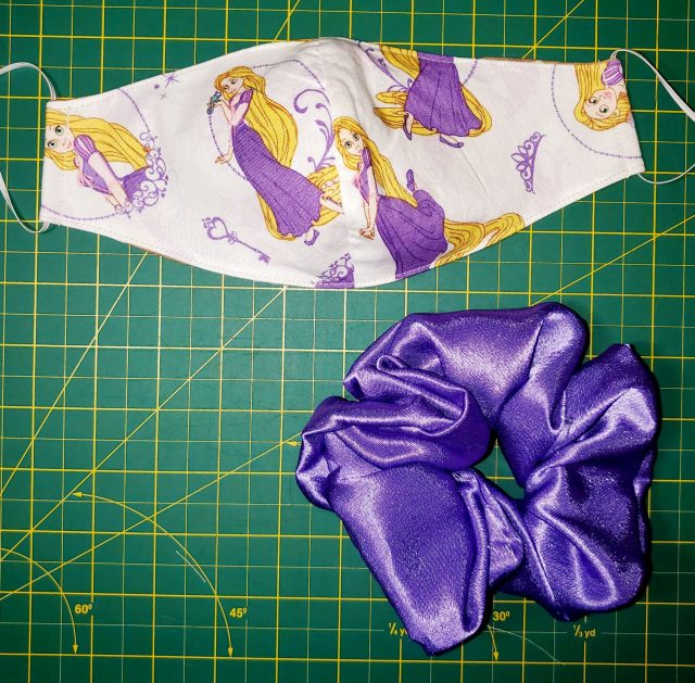 Rapunzel Purple Satin Combo
