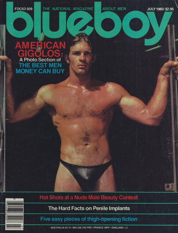 Blueboy July 1980 Magazine, Blueboy July 1980