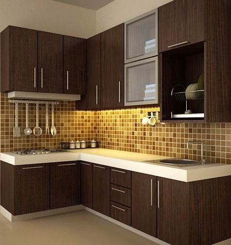 brown kitchen decor ideas