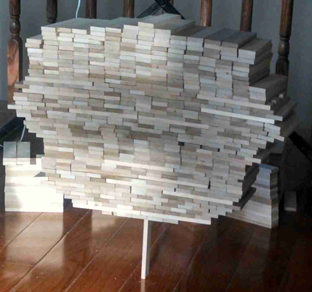 How many planks can you stack on top of one?
