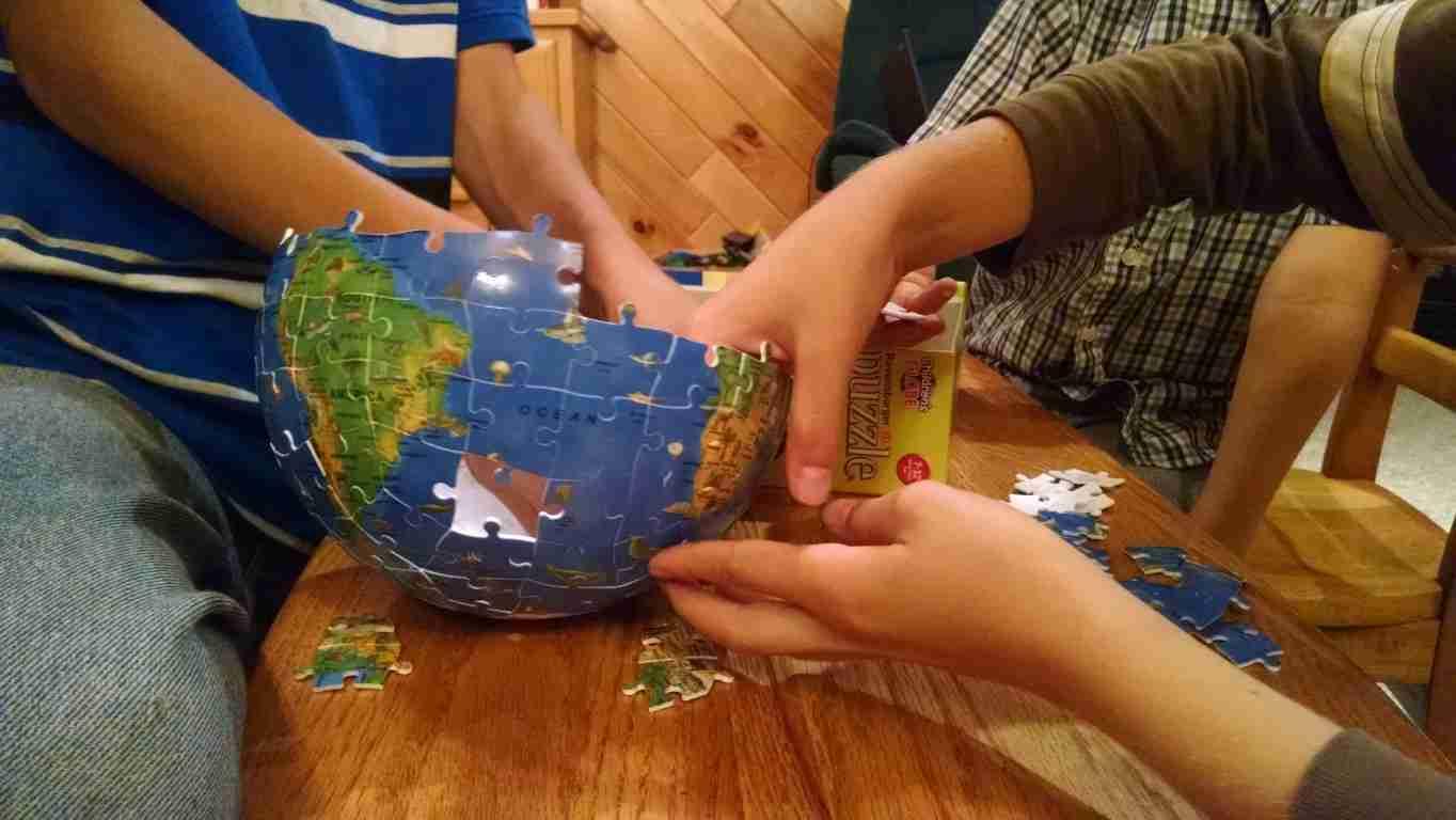 Puzzleball Globe