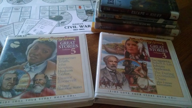 Civil War Read Aloud Books, Audio, and Games