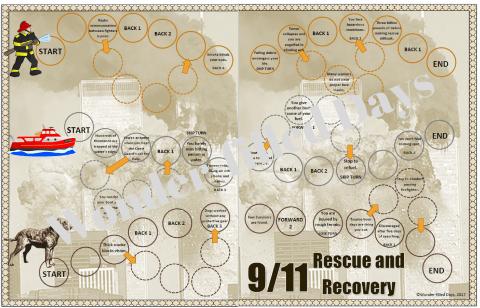 September 11 File Folder Game