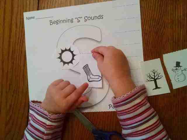 Preschool Printable