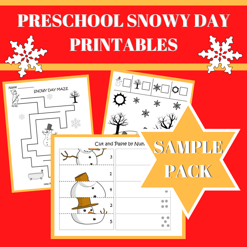 It is an image of The Snowy Day Printable pertaining to teacher