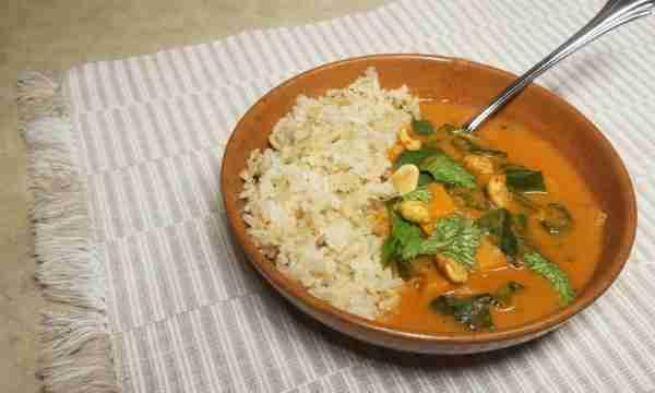 Aldi Meal Plan- African Peanut Stew