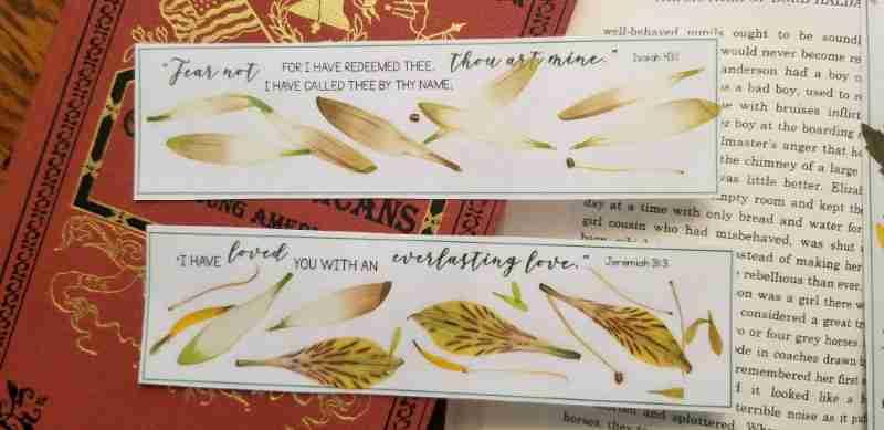 Bible Verse Bookmarks Printable