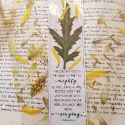 DIY Pressed Flower (Botanical) Bookmarks