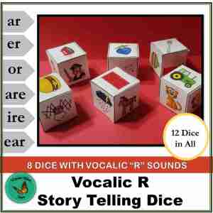 Vocalic R Story Telling Dice