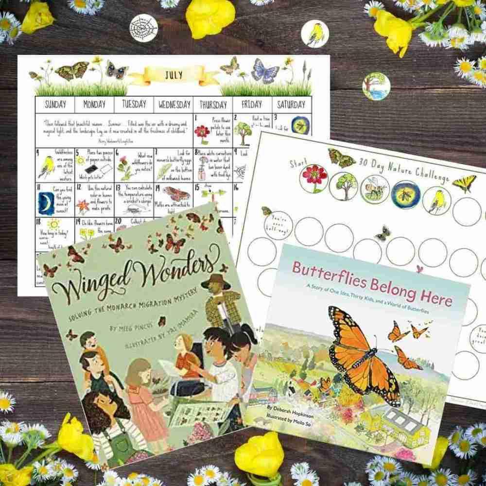 July Nature Calendar & Tracker