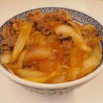 今日の晩ご飯は吉野家の「ねぎだく牛丼」です