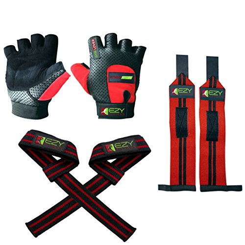 Weight Lifting Gloves Weightlifting Straps